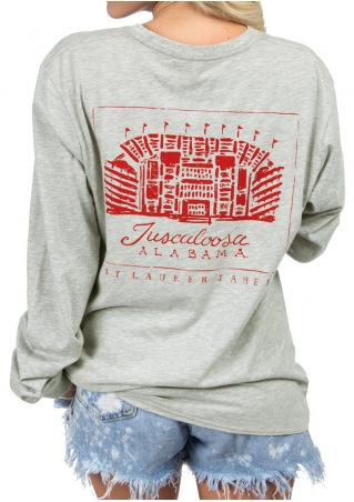 Alabama Stadium Pocket Sweatshirt