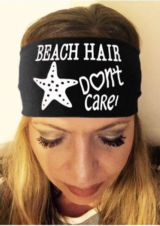 Beach Hair Don't Care Headband