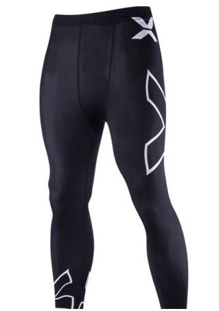 Pantalon de Sport Imprimé Taille Élastique