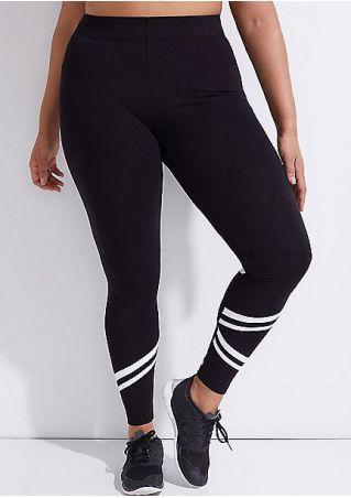 Pantalon de Sport Skinny avec Rayures