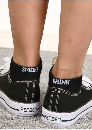 Smoke Drink Chaussettes Courtes