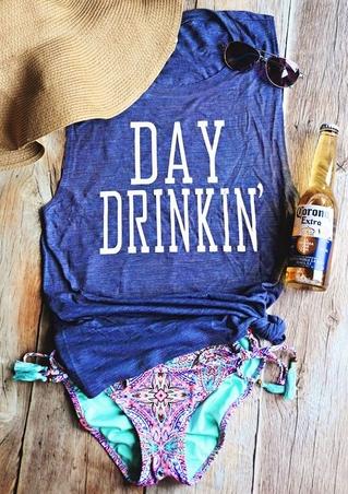 Day Drinkin' Débardeur Casual